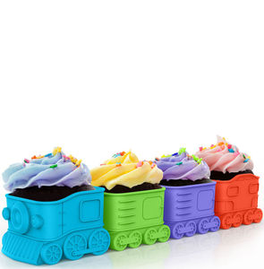 Train Cupcake Mould - kitchen accessories