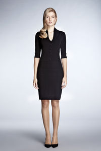 Grace Black Bodycon Dress - dresses