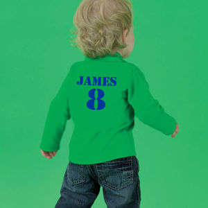 Personalised Long Sleeved Polo Shirt - baby & child sale