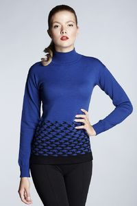 Soft Blue Merino Wool Jumper