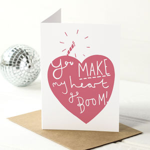 Explosive Valentine's Day Card - cards & wrap