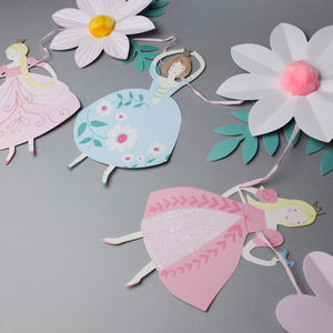 Princess Party Garland - baby's room