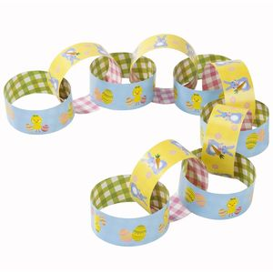 Easter Themed Paper Chains - easter decorations
