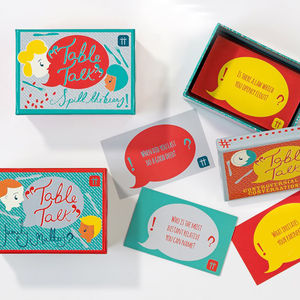 Table Talk Conversation Starters - advice cards & table games