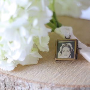 Tiny Photo Frame For Wedding Bouquet - picture frames