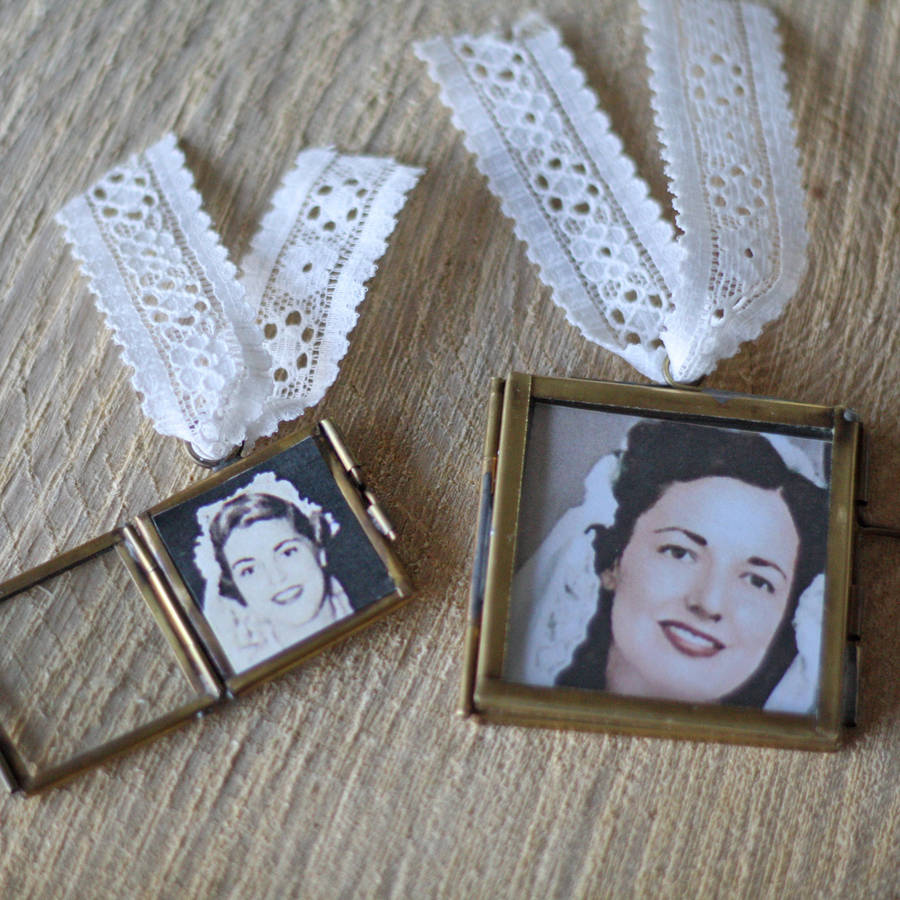 Tiny Photo Frame For Wedding Bouquet By The Wedding Of My Dreams