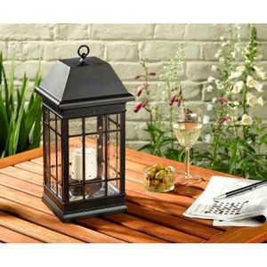Seville Garden Lantern Solar Light - lighting