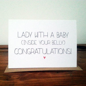 Pregnancy Card - shop by category
