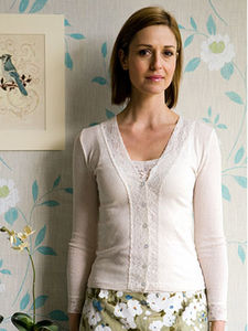 Lace Trim Twinset In Cream - women's fashion