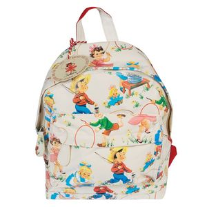 Vintage Kids Print Rucksack - lunch boxes & bags