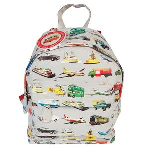Vintage Transport Print Rucksack - lunch boxes & bags