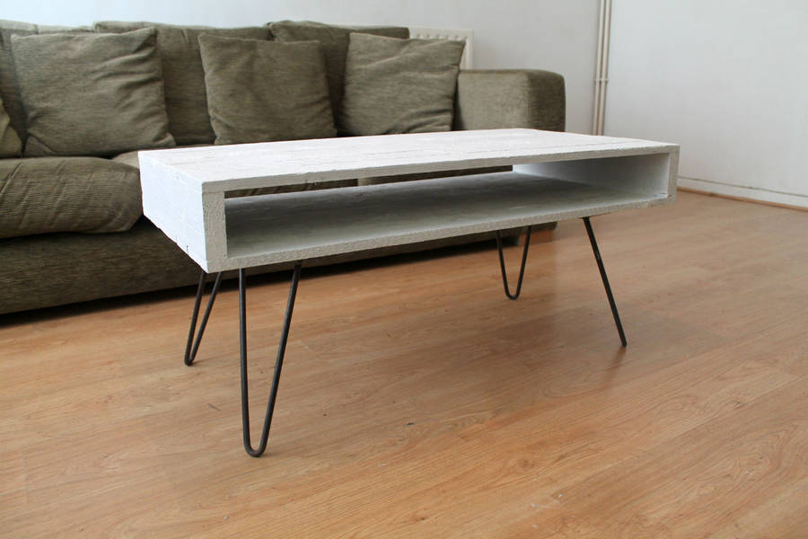 Superieur Pallet Coffee Table In Solid White