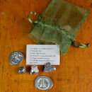 Pewter 'Friendship' Message Tokens