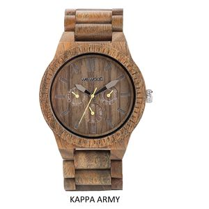 Kappa Wooden Watch - women's jewellery