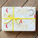 Cheesy Wrap (two sheets of wrap and two matching gift tags)