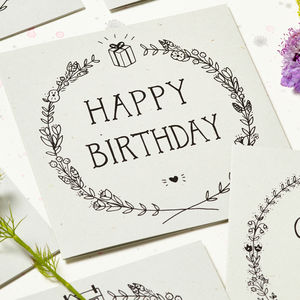 'Happy Birthday' Card - birthday cards