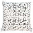 Personalised Monogram Triangle Print Cushion Cover