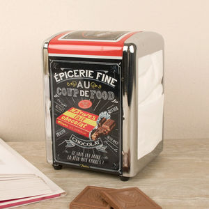 French Bistro Napkin Dispenser