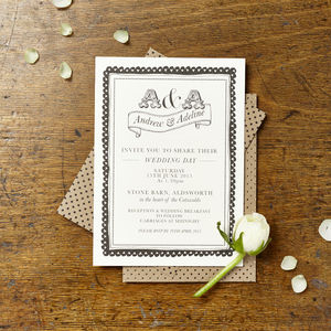 Adeline Wedding Invitation - wedding stationery