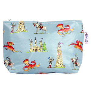 Knights And Dragons Sponge Bag