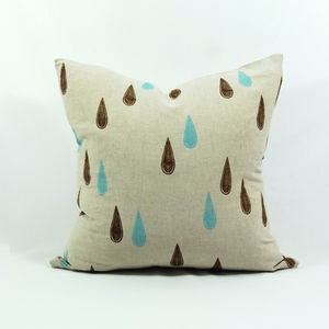 Raindrops Cushion Cover - cushions