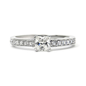 Supernova Ethical Fairtrade Princess Engagement Ring - wedding & engagement rings