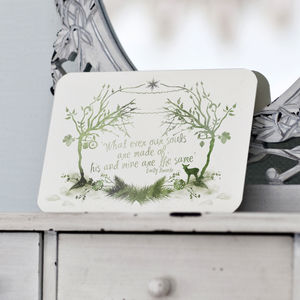 Woodland Wedding Invitation And Details / RSVP Card - rustic wedding