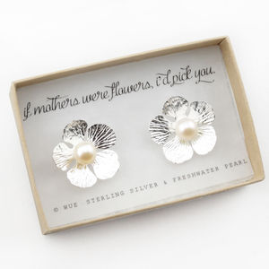 If Mothers Were Flowers Earrings - women's jewellery