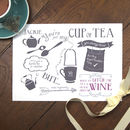 'Just My Cup Of Tea' Friendship Print