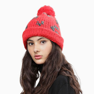 Freak Out Beanie - contemporary women's fashion