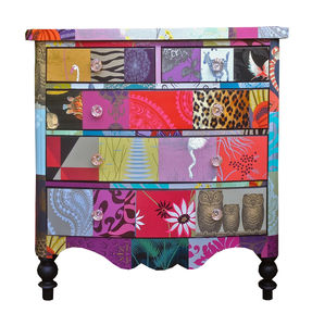 Patchwork Chest Of Drawers - chests of drawers