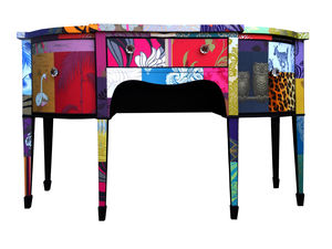 Patchwork Desk - bedroom