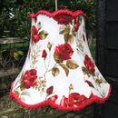 Amadis Vintage Barkcloth Lampshade