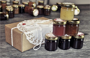 Mini Jam And Marmalade Taster Box - gifts for grandparents