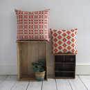 Welsh Blanket Print Cushion