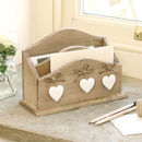 Three Hearts Country Letter Tidy