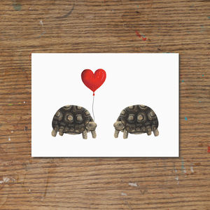 Tortoise Love Art Print