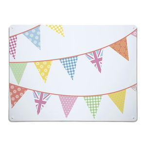Bunting Design / Large Magnetic Notice Board