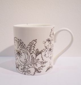 Bone China Jacobean Mug