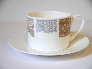 Lace Tea Cup