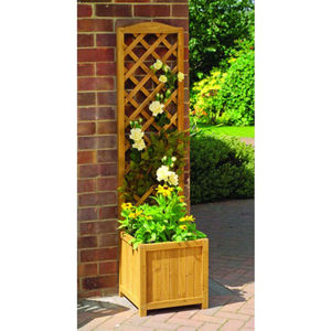 Toulouse Wooden Trellis Garden Planter - garden furniture