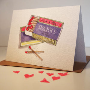 Personalised 'Perfect Match' Card - anniversary gifts