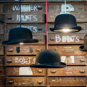 Charles Bowler Hat Light - statement lighting