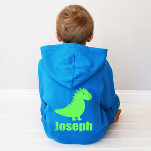 Personalised Kids Dinosaur Onesie - clothing