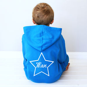 Personalised Kids Star Onesie - children's nightwear
