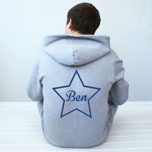 Personalised Star Onesie - men's fashion