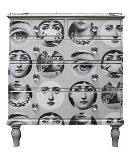Fornasetti Faces Chest Of Drawers - chests of drawers