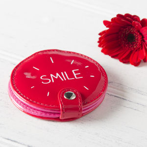 'Smile' Compact Mirror