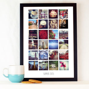 Personalised Instagram Photo Album Print