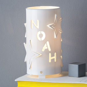 Personalised Star Night Light - personalised